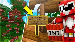 TNT IN CASA MIA?!?! AIUTOOO!!! - Minecraft ITA Server Anima