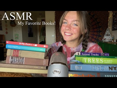 ASMR Reading & Showing you my Books