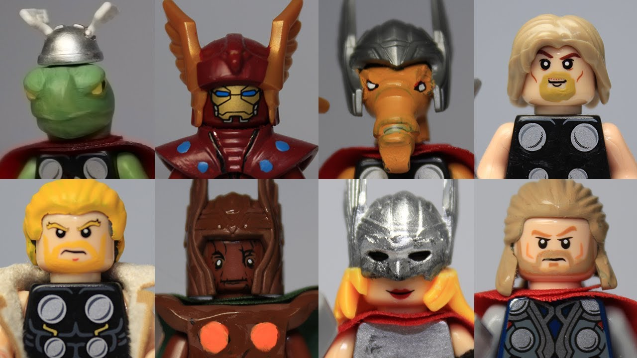Lego Marvel Moc: Custom Lego Marvel Thor Corps Moc Showcase