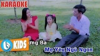 Bé Chúc Ngủ Ngon KARAOKE - Nhạc Thiếu Nhi Karaoke