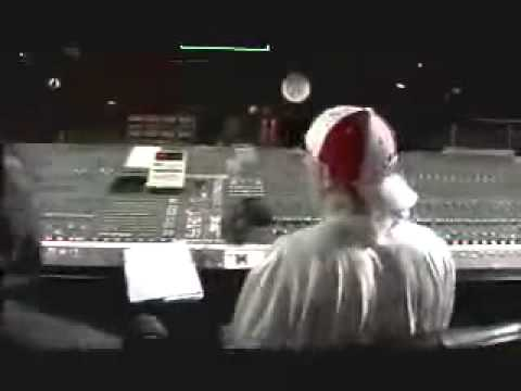 Eminem in the recording  studio part 1
