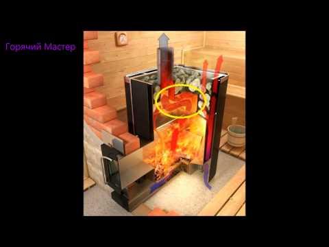 Печь банная прогорание 2 часть / Прогорание печи / Печь прогорает / Русский жар