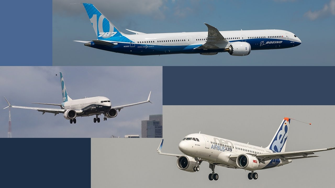 Boeing's 787-10 and 737 Max 9, and Airbus's A319neo Airliners Achieve First  Flights – AINtv
