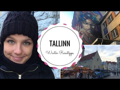 TALLINN WINTER REISETIPPS | Altstadt, veganes Essen & Streetart | Tallinn Vlog