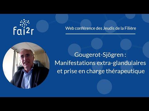 le syndrome de gougerot-sj�gren dysgueusie perte de sensation de goût