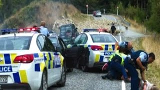 New Zealand: Flock of sheep helps police to nab thieves
