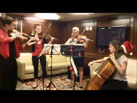 Little Drummer Boy string quartet cover