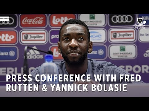Press conference with Fred Rutten & Yannick Bolasie
