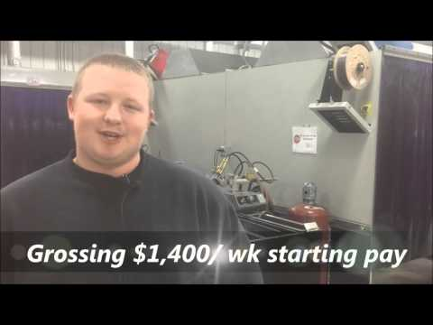 18yr old making $1,400/wk  Jeremy Jolly- Best Welding School
