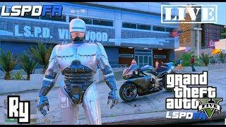 lIVE: GTA 5 LSPDFR Police Roleplay (Return of RoboCop)