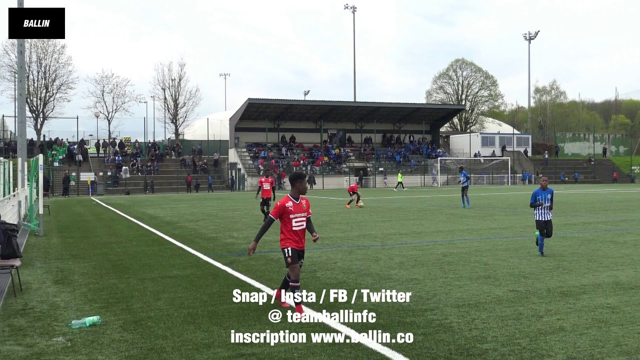 2018 04 14 U13 Joinville Cup Stade Rennais Vs Fc Cergy Youtube