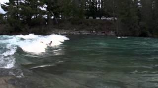 Hawea River Surf Day at the World Heli Challenge 2013