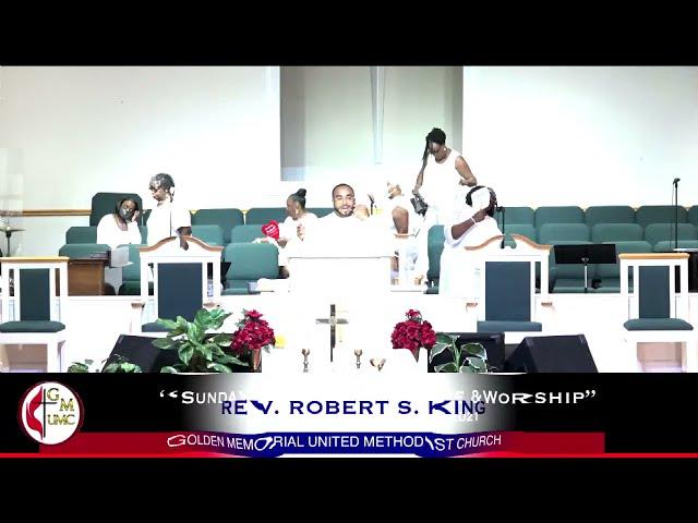 08-01-2021 - Golden Memorial Live Stream with Pastor Robert S. King