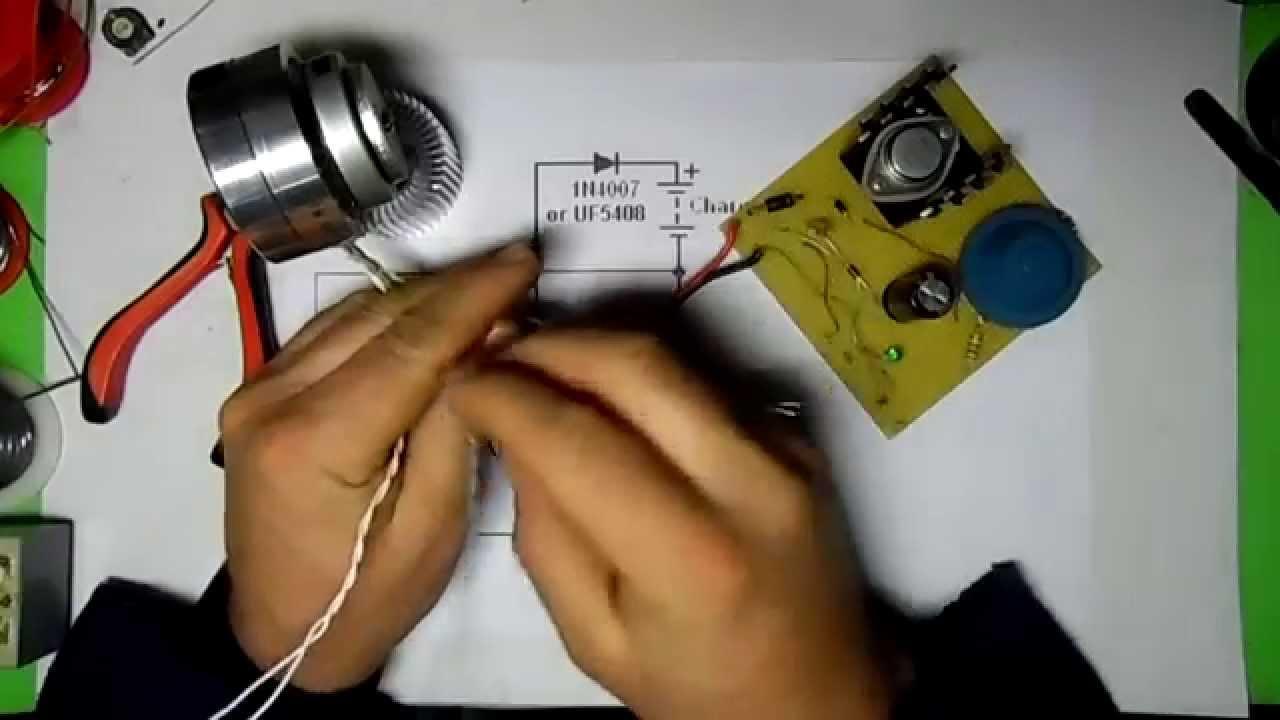 Circuito Motor Bedini : Motor bedini ª parte paso a paso youtube