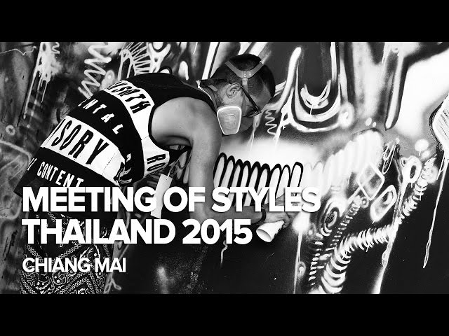 Meeting of Styles Thailand 2015, Chiang Mai