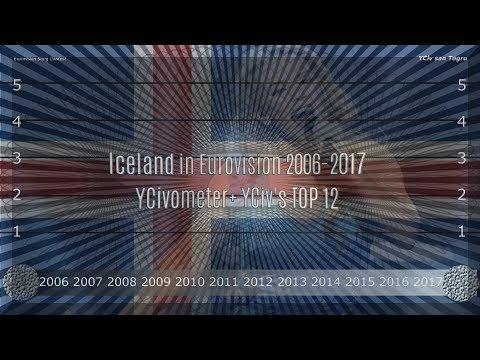 Iceland in Eurovision 2006/2017 - YCiv's TOP 12 + YCivometer  - Season 2, Episode 7