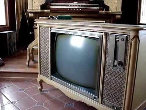 Zenith 1965 Marseille Console Tv Pt1