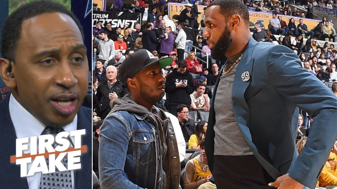 Stephen A Rich Paul Is A Good Agent But Lebrons Defense Of Him Is Off First Take