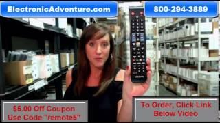 Original Samsung BN59-01178W Coupon $5 Off Smart LED HDTV Remote Control(BN5901178W)