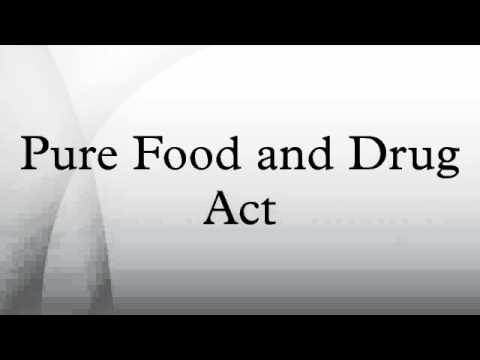 Image result for fdr enact the food and drug act