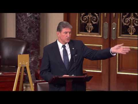 Manchin Urges Passage of his Measure to Overturn Anti-Coal Rule