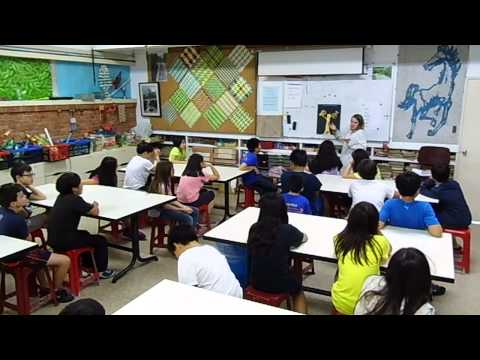 "Gustav Klimt ""Tree Of Life"" Day 2 - 5th Grade Art Lesson"