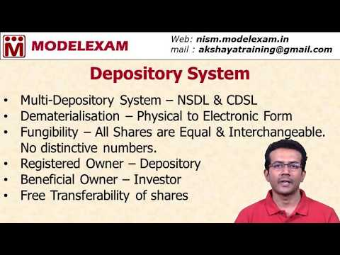 Capital Market - Depository System