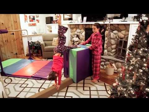 Tumbl Trak Presents: Give The Gift Of Gymnastics - Starter Home Gym