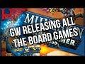Munchkin... Warhammer 40,000 Edition?! & More GenCon Games Workshop Reveals
