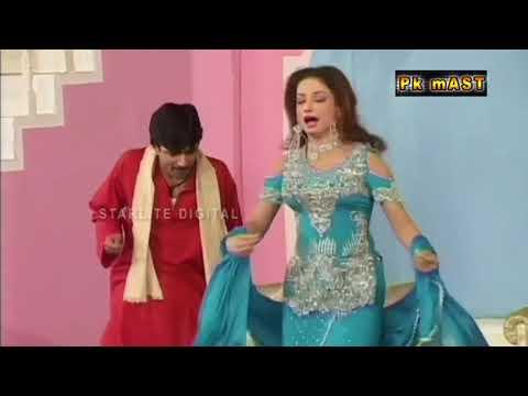 Sajan Abbas and Asif Iqbal New Pakistani Stage Drama Full Funny Clip 2017