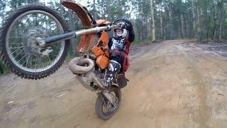 AUSTRALIAN HARD ENDURO: a cross training ride ( (motovlog #74)