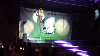 Russian 2015 pole dance competition Javier Ramirez- 2nd place men's professional