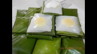 Traditional Cambodian Dessert Recipe (Noum Kasseing Srough)