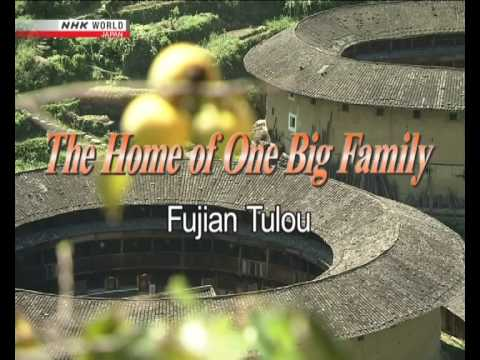 CHINA : Tulou /THE  HOME OF  ONE  BIG FAMILY