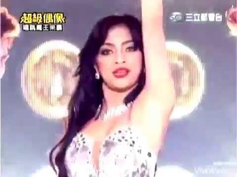 Resciebelle Santiago one night only in Taiwan Super Idol