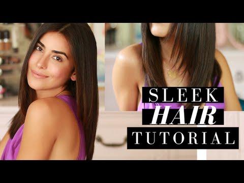 Sleek Straight Hair Tutorial | What's My Secret?