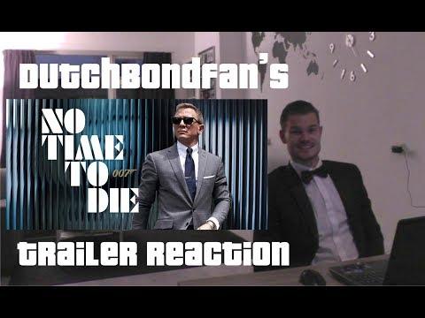 No Time To Die Trailer Reaction - DutchBondFan