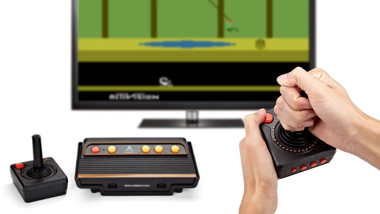 Atari Flashback 8 Gold Activision Edition Youtube