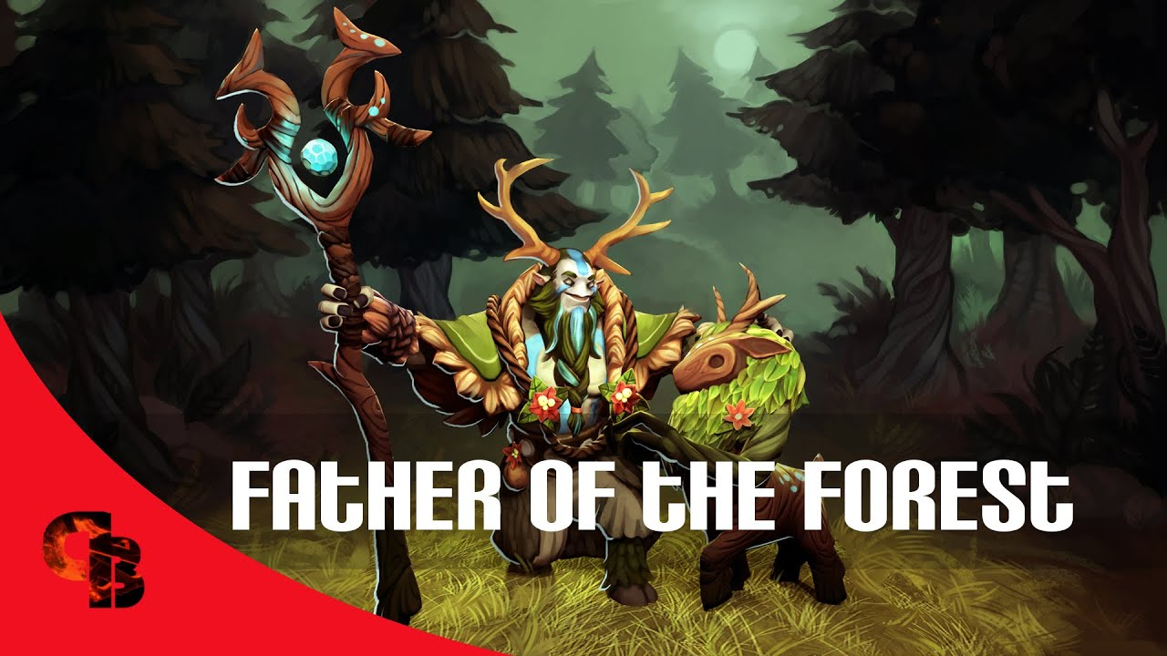 Dota 2: Store - Nature Prophet - Father Of The Forest