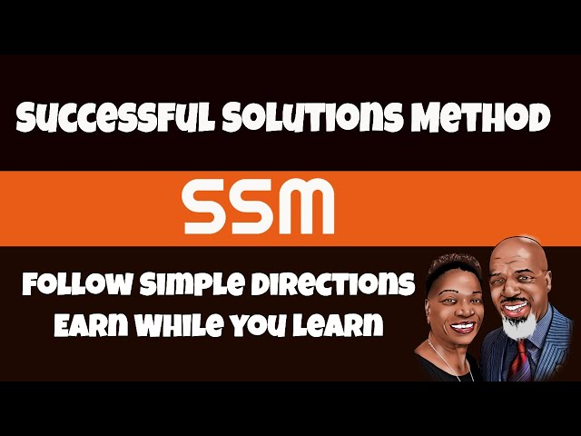 SSM | Follow Simple  Directions Earn While You Learn