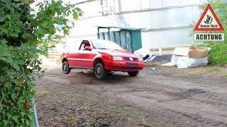 Fahren ohne Stoßdämpfer & Federn | Dumm Tüch