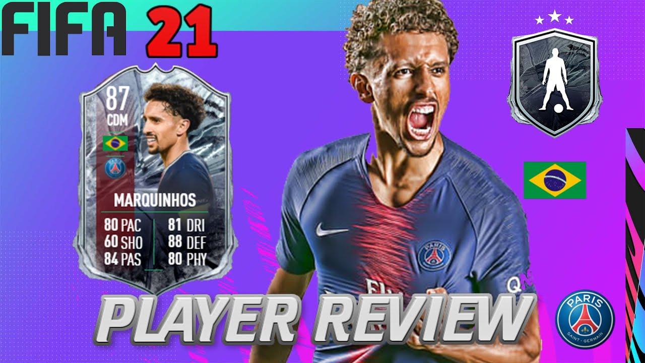 FIFA 21 PLAYER REVIEW | 87 FUT FREEZE MARQUINHOS