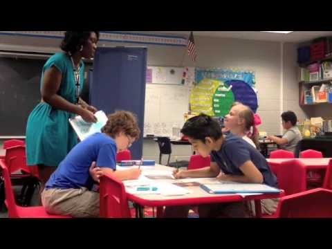 Small Group Reading Lesson (Specialized Instruction)