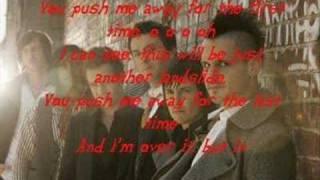 The Last Goodnight-  Push Me Away (WITH LYRICS)