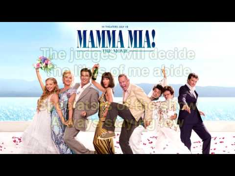 Mamma Mia! The Movie Soundtrack: The Winner Takes It All (Instrumental/Karaoke) +Lyrics