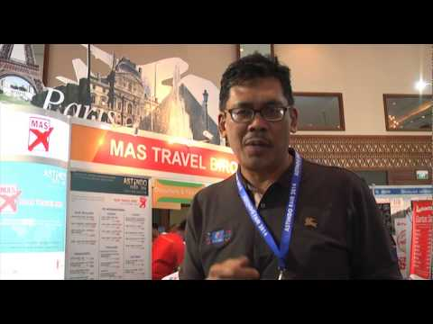 MAS Travel Biro Tourism Partners ( Malaysia ) on Astindo Fair 2014