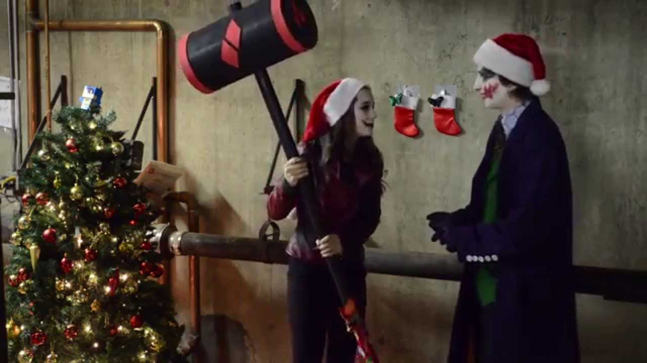 A Joker and Harley Quinn Christmas - YouTube