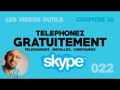 Télécharger, installer, et configurez Skype et téléphonez gratuitement