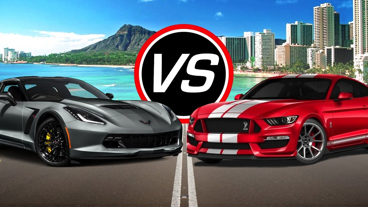 2016 Chevy Corvette Z06 Vs Ford Mustang
