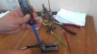 Розбирання Тоз-63, Тоз БМ (механізм замикання)